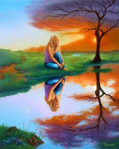 Beautiful Sadness by Jim Warren