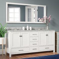 Find Double Vanities at Wayfair. Enjoy Free Shipping & browse our great selection of Bathroom Vanities, Vanity Tops, Vessel Sinks and more!