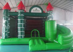 Nafukovací hrad - zákazková výroba pre Kooperatíva
