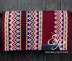 Western Saddle Pads, Saddle Blanket, Western Pleasure, Horse Stuff, Tack, All Design, Make It Yourself, Wool, Handmade