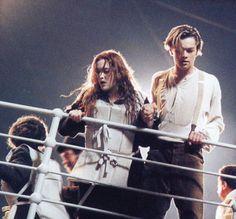 Titanic Leonardo DiCaprio as Jack Dawson and Kate Winslet as Rose DeWitt Bukater Rms Titanic, Titanic History, Titanic Movie, Jack Dawson, Billy Zane, James Cameron, Kate Winslet, Iconic Movies, Good Movies