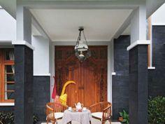 Pintu gebyok planning untuk rumah mungil elFAKA