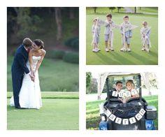 Wedding Tee Time on itsabrideslife.com #wedding #brideandgroom #golfwedding #golfweddingideas