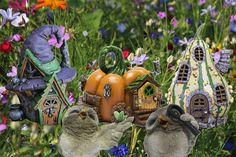 www.decorelle.fi - Sisusta ja somista kotisi, parvekkeesi, pihasi ja puutarhasi tai vaikkapa vanha akvaariosi/terraariosi näillä satumaisen ihanilla keijutaloilla ja keijuilla.
