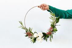 The Half Wreath is the Only Way We're Doing Wreaths This Year