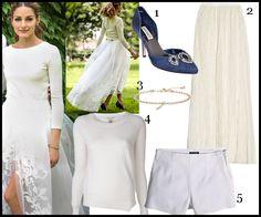 Olivia Palermo Wedding Dress Copies And