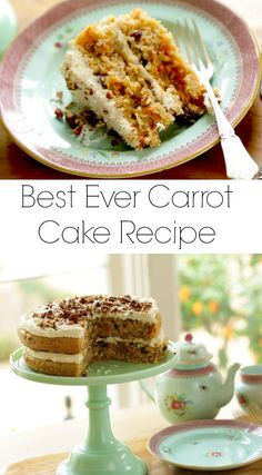 Learn how to make the best carrot cake recipe! Moist and delicious and so easy to make! Perfect for your Easter dessert, Mother's Day or showers. Easy Brunch Recipes, Fun Baking Recipes, Easy Cake Recipes, Easter Recipes, Dessert Recipes, Spring Recipes, Easter Ideas, Dessert Ideas, Easy Birthday Cake Recipes