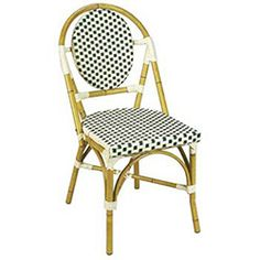 G and A Commercial Seating 808 Outdoor Restaurant Chairs - Metal Frame