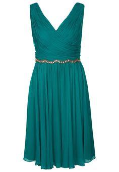 Marchesa Notte - Cocktailkleid / festliches Kleid - turquoise