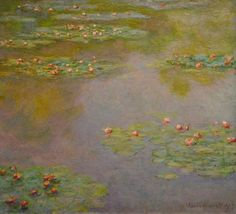 lonequixote:   Water Lilies (1907)byClaude... | Lone Quixote
