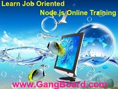 GangBoard is one of the India's Leading Online Training Institute. We offers more than 100+ Courses from real-time IT Expects with 100% Job Assurance. For more details Please visit our official site or contact 7550080082. Thank you.