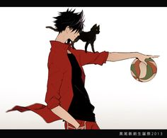 Image uploaded by ANIME. Find images and videos about anime, haikyuu and neko on We Heart It - the app to get lost in what you love. Kuroo Haikyuu, Manga Haikyuu, Kuroo Tetsurou, Kenma, Manga Anime, Hinata, Naruto, Daisuga, Kuroken