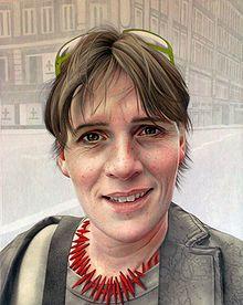 Annemarie Busschers zelfportret