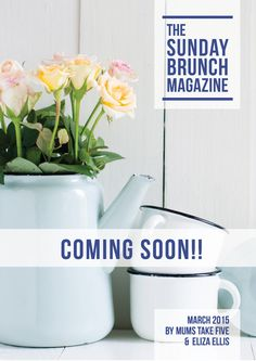 The New Sunday Brunch - Bel and I are so pleased to announce that we'll be launching the new party and MAGAZINE(!!!) on Feb 1, so watch out for it!