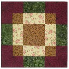 Try my free quilt block patterns the next time you'd like to create a quilt or hold a block swap. Browse quilt blocks with names starting with A through E.: Antique Tile Quilt Block Pattern - 12""