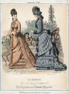 The Englishwoman's Domestic Magazine September 1875 LAPL