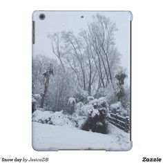 Snow day case for iPad air