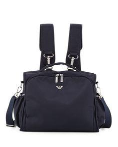 Armani Junior Nylon Backpack Diaper Bag 9591b11bdb6ba