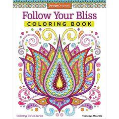 Follow Your Bliss Coloring Book O Design Originals