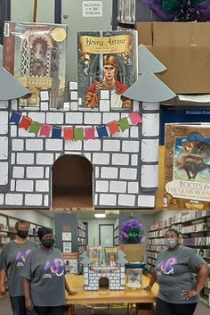 2020 Summer Reading Program Display at Annie Thompson Jeffers Library, Bolton.