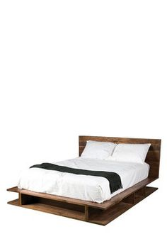Reclaimed California King Bed with Storage