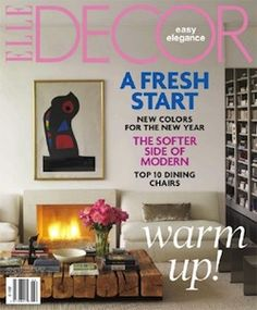 Elle Decor Interior Design Magazine Home Decorating Magazine Shelter Magazine Architecture Magazine
