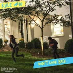 There's nothing but awesomeness ahead of you. #PaperTowns ♡