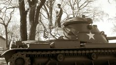 M60 Patton (1960) Armored Fighting Vehicle, Military Vehicles, Tanks, Chicago, Army Vehicles, Shelled, Military Tank, Thoughts