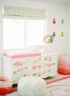 Quarto de bebê – Decoração com Boneca Russa super tendência!