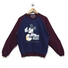Deadstock With Tag TOKYO DISNEYLAND Walt Disney Company Sweatshirt Large Size hScwDLax