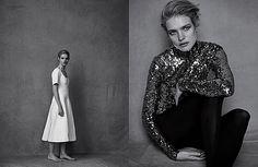 Photographer: Peter Lindbergh | Stylist: Jacob K | Model: Natalia Vodianova #fashion #photography #inspiration #style #editorial