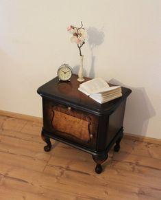 Vintage Kommode dunkel-braun Shabby, Nightstand, Table, Furniture, Home Decor, Etsy, Vintage Dressers, Old Drawers
