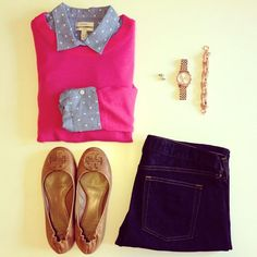 Sweet Southern Prep..always got to have a little pink in your closet. I'm not always preppy but I love this outfit.