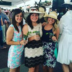 Our #traveltuesday is going out to the time our Management team traveled to go see the Kentucky Derby! Mint Juleps for our girls!  . . . . . . . . #glam #squad #pretty #legioneliteokc #marketing #consulting #business #events #dreamteam #goals #womensfashion #horses #social