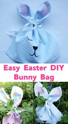Great little Easter Bunny Bag craft which makes such great gifts for the kiddies! #easter #easterbunny #eastercrafts #easterdiy #kidsactivites #easterbunnybag #noseweaster #oldfashionedfun #eastergoodiebag #kidseasterideas #easysewingprojects #easyeaterdiy Rainy Day Activities, Indoor Activities For Kids, Kids Learning Activities, Easter Activities, Easter Arts And Crafts, Easter Egg Crafts, Easter Bunny, Craft Projects For Kids, Diy For Kids