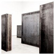 Richard Serra - Sculpture at Gagosian Gallery NY