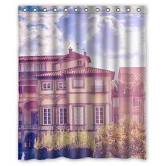 Purchase Sunny Town Country City Shower Curtain Polyester Fabric Bathroom Decorative Curtain Size Inches from Felix Honey on OpenSky. Shower Curtain Sizes, Fabric Shower Curtains, Town And Country, Country Bathrooms, City, Soap, Bath Tubs, Design, Bleach