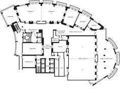 Floor plan Cobalt Ballroom   Baltimore Meetings   Four Seasons Hotel Baltimore