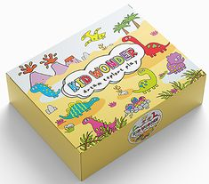 RAWR! Join us on a Dino Hunt as we search for Dinosaur Bones!  Kid Wonder is a monthly subscription box for kids!