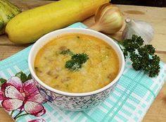 Суп из кабачков с сыром и овощами: рецепт с фото