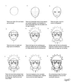 naruto tutorial by Sie-tje on DeviantArt Naruto Drawings Easy, Naruto Sketch Drawing, Easy Drawings Sketches, Sketches Tutorial, Guy Drawing, Anime Naruto, Naruto Fan Art, Manga Anime, Naruto Painting