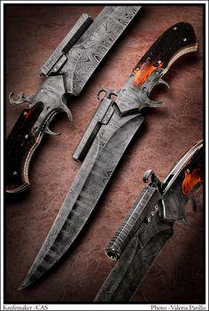 Shotting Sub Hilt   CAS Knives - cuchillos artesanales