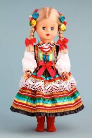 Polish Folk Baby Doll - Lublin