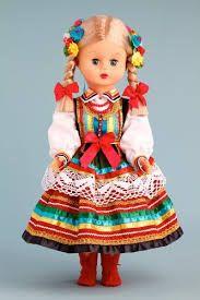 Polish Folk Baby Doll - Lublin