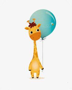 Cartoon giraffe, Giraffe Illustrator, Animal, Giraffe Deductible Elements PNG Image and Clipart Giraffe Illustration, Cute Illustration, Cartoon Giraffe, Cartoon Kids, Baby Clip Art, Baby Art, Art Drawings For Kids, Cute Drawings, Bd Design