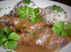 Hovädzia roštenka s jasmínovou ryžou a červená quinoa Quinoa, Pork, Chicken, Meat, Kale Stir Fry, Pork Chops, Cubs