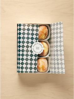 Great way to give away some homemade baked goodies