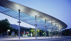 Bus station, Hamburg