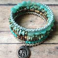 Happy Memories Bracelet by LeClairRoseDesigns on Etsy, $32.00