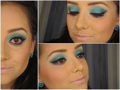 Maquiagem de Sexta – Cores e brilho